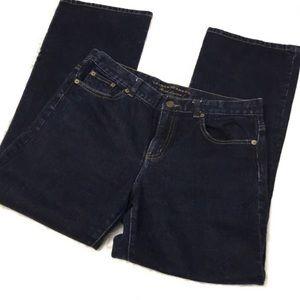 Ralph Lauren Classic bootcut dark blue jeans 8P